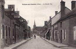2344 - Brinon Sur Sauldre - La Grande Rue - Frankrijk