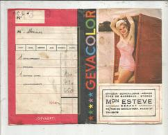 Pochette De Photographies , Gevacolor , PIN UP ,Maison Estéve , Paris 14 E ,3 Scans , Frais Fr 1.55 E - Photographie