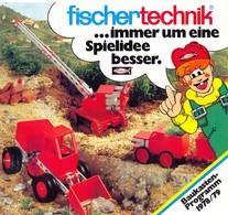 KAT323 Modellprospekt Fischertechnik Baukastenprogramm 1978/79, Deutsch - Littérature & DVD
