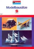 KAT324 Modellbauprospekt MONOGRAM 1978, Deutsch, Neu - Littérature & DVD