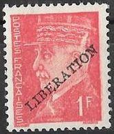 FRANCE LIBERATION ..St NAZAIRE 1f** Rge ..Signé P MAYER - Libération
