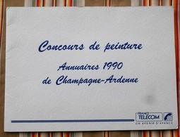 51 CHALONS S/ MARNE Pochette France Telecom Concours De Peinture 1990 - Publicités