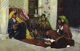 Harem ( Maruecos) Lehnert & Landrock Colorisée RV Beau Cachet Tresor Et Postes Aux Armées Meknes - Maroc
