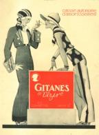 """PUB  CIGARETTES """" GITANES """"  Par  René VINCENT   1931  ( 7 ) - Tabac (objets Liés)"""