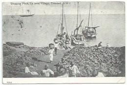 Amérique - Antilles - Trinidad - Shipping Pitch , La Bréa Village , Trinidad , B W I - Trinidad