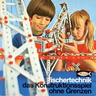 KAT325 Modellprospekt Fischertechnik 1970, Deutsch, Neu - Literature & DVD