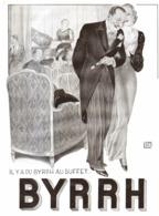 """PUB  """" BYRRH """" Par   Georges LEONNEC  1931  ( 25  ) - Autres Collections"""