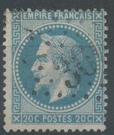 Lot N°46623  N°29A, Oblit GC 3004 Pouilly-sur-Loire, Nièvre (56), Ind 4 ????? - 1863-1870 Napoleon III With Laurels