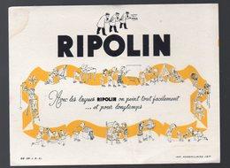 Buvard   RIPOLIN (PPP147633) - Carte Assorbenti
