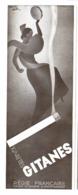 "PUB  CIGARETTES "" GITANES ""  Par  Roger PEROT   1931  ( 8 ) - Tabac (objets Liés)"