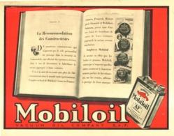 "PUB HUILE "" MOBILOIL "" 1931 ( 17 ) - Other"