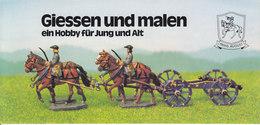KAT327 Modellbauprospekt Prins August - Giessen Und Malen, Neu - Littérature & DVD