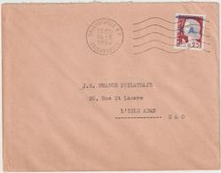 ESC 0,25 Decaris Surchargé E.A OMEC Orléansville 1962 - Algérie (1924-1962)