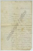 Lettre Armée De La Loire 28 Déc. 1870. Ecrite à Decize. Relate Les Pertes Des Zouaves Et Francs-Tireurs Du Doubs à Baume - Documents