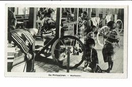 CPA - Carte Postale - Philippines - De Philipijnen - Weefkamer - Salle De Tissage  VM1385 - Philippines