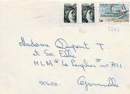 TP  N°  2203 Et 1964 Sur Enveloppe De Daoulas - 1961-....