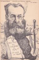 Caricature De M. Maruéjouls, Ministre Des Travaux Publics Et Autres.... Rachat Des Chemins De Fer - Vers 1905 - TTB - France