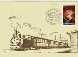 TP N°  2205 Et 2134 Sur Les 2 Faces D'une Carte Postale De Nouzonville - 1961-....