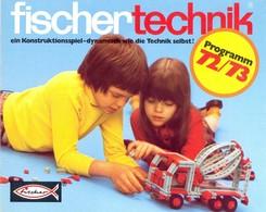 KAT330 Modellprospekt Fischertechnik 1972/73, Deutsch, Neu - Literature & DVD