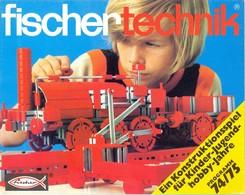 KAT331 Modellprospekt Fischertechnik 1974/75, Deutsch, Neu - Littérature & DVD