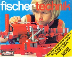KAT331 Modellprospekt Fischertechnik 1974/75, Deutsch, Neu - Literature & DVD