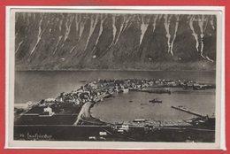 ISLANDE --  Isafjordur - Islande