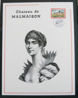 FRANCE - 1978 - FDC - Document 21 * 27 - CHATEAU DE LA MALMAISON - 1970-1979