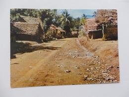 Archipel Des Comores, Anjuan, Route De Sima. - Comores