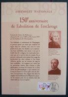 FRANCE - 1998 - FDC - ENCART 21 * 29.7 - ABOLITION DE L ESCLAVAGE - 1990-1999