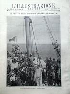 L'illustrazione Italiana 30 Giugno 1912 Misrata Derna Leoncavallo Alighieri Roma - Libri, Riviste, Fumetti