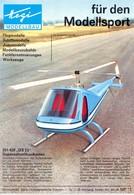 KAT335 Modellbauprospekt Hegi Modellsport, 1973, Deutsch, Neu - Littérature & DVD