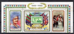 LESOTHO  Timbres Neufs ** De 1980   ( Ref 6229 )  Famille Royale - Queen Mother - Lesotho (1966-...)