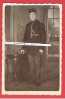 PHOTOGRAPHIE SOLDAT GENDARME PHOTOGRAPHE RENEE ET ARNOLD 12 BOULEVARD SAINT MARCEL A PARIS - Guerre, Militaire
