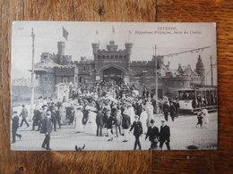 Ostende 1913 Hippodrome Wellington, Sortie Animée / Tram - Oostende