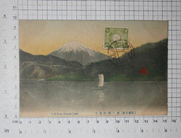 JAPAN - Hakone, Hakone Lake, Mount Fuji 1911. - Vintage Postcard - (APAT2-124) - Sonstige
