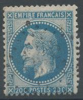 Lot N°46637  Variété/n°29A, Oblit GC 398 Beaupréau, Maine-et-Loire (47), Ind 4, Sous Le R De EMPIRE - 1863-1870 Napoleon III With Laurels
