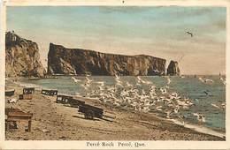 Pays Div-ref R713- Canada - Quebec - Percé Rock Percé - Carte Bon Etat  - - Percé