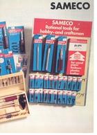 KAT339 Modellprospekt Werkzeug SAMECO, 6-seitig, Deutsch, Neu - Littérature & DVD