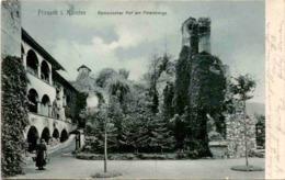Friesach I. Kärnten - Romanischer Hof Am Petersberge (1011) * Karte Von 1906 * 1. August 1914 - Friesach