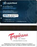 Tropicana Layerhorst----   Key Card, Room Key, SchLusselkarte, NEW -- 1947 - Hotelkarten