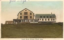 Pays Div-ref R709- Canada - Quebec - Percé Rock House - Percé - Carte Bon Etat  - - Percé