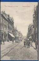 ST JOHANN    Bahnhofstrasse      Animées    écrite En 1911 - Germany