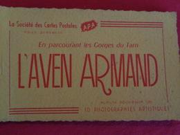 L'Aven Armand (album Souvenir, 10 Photos) - Altri