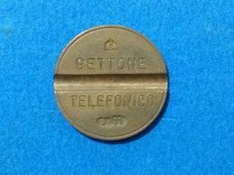 1977 ITALIA TOKEN GETTONE TELEFONICO SIP USATO 7711 - Italia