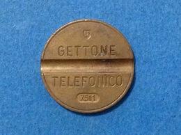 1975 ITALIA TOKEN GETTONE TELEFONICO SIP USATO 7511 - Italia
