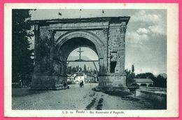 Aoste - Arc Honoraire D'Auguste - Calèche - Animée - Edit. J. BROCHEREL N° 99 - Aosta