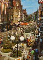 Germany  - Postcard Circulated In 1986  - Gottingen  - Pedestrian Area - Weender Street - 2/scans - Goettingen