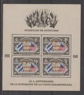 HONDURAS  1949  ANNIVERSARY  UPU * *MNH   Ref. 6750 X - Honduras