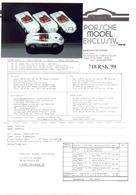 KAT344 Porsche Model Exclusiv, Info 718 RSK '59 Mit Originalfoto - Littérature & DVD