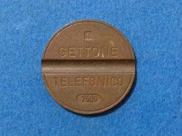 1975 ITALIA TOKEN GETTONE TELEFONICO SIP USATO 7509 - Italia